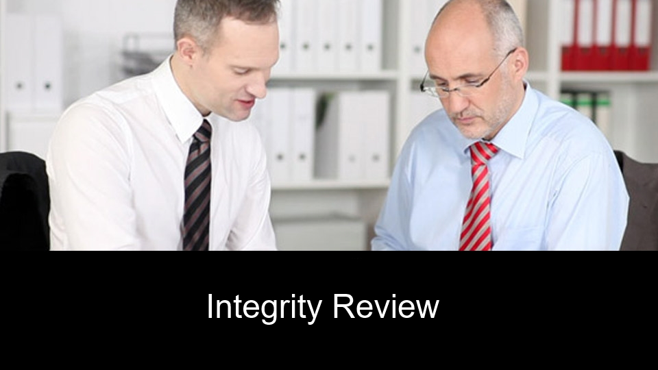 Integrity Review