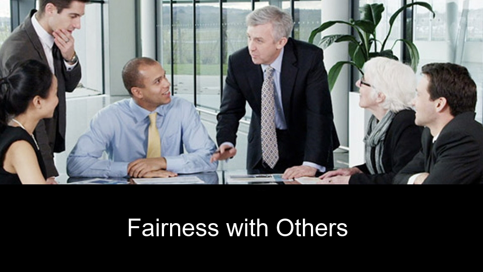 Fairness with Others