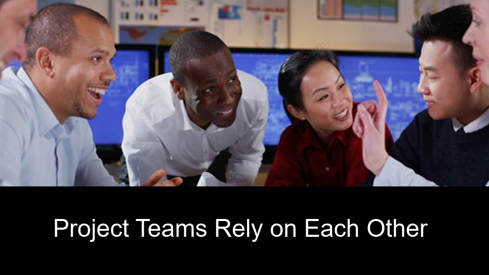 Project Teams Rely on Each Other